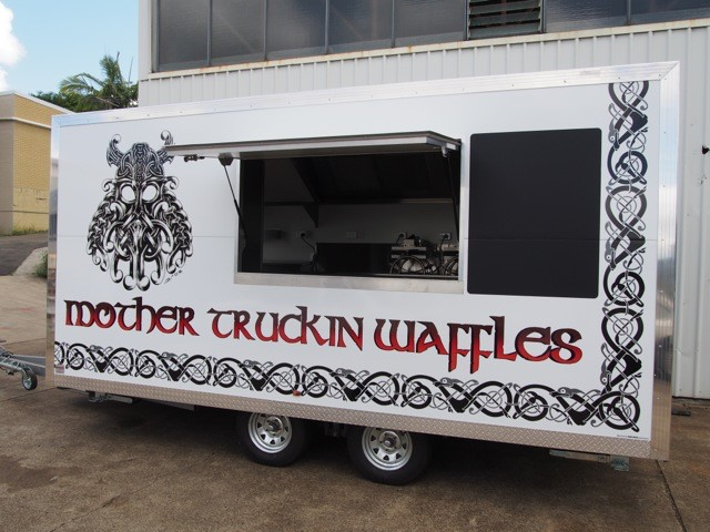Mother Truckin Waffles