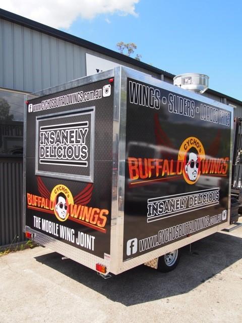 Cychos Buffalo Wings Van Demons Vans
